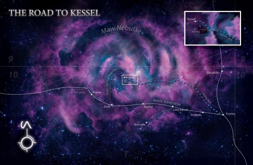 The Kessel Run - Star Wars