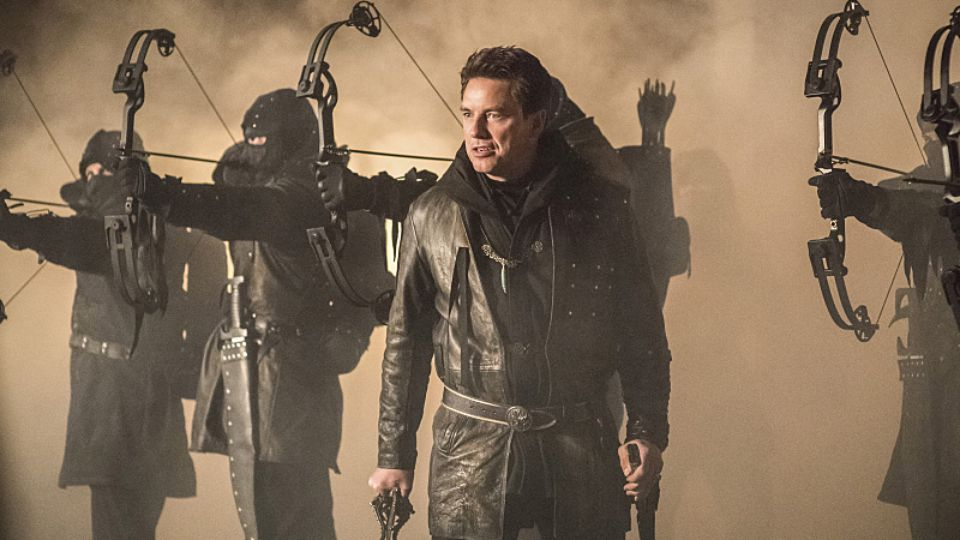 The League of Assassins on Arrow