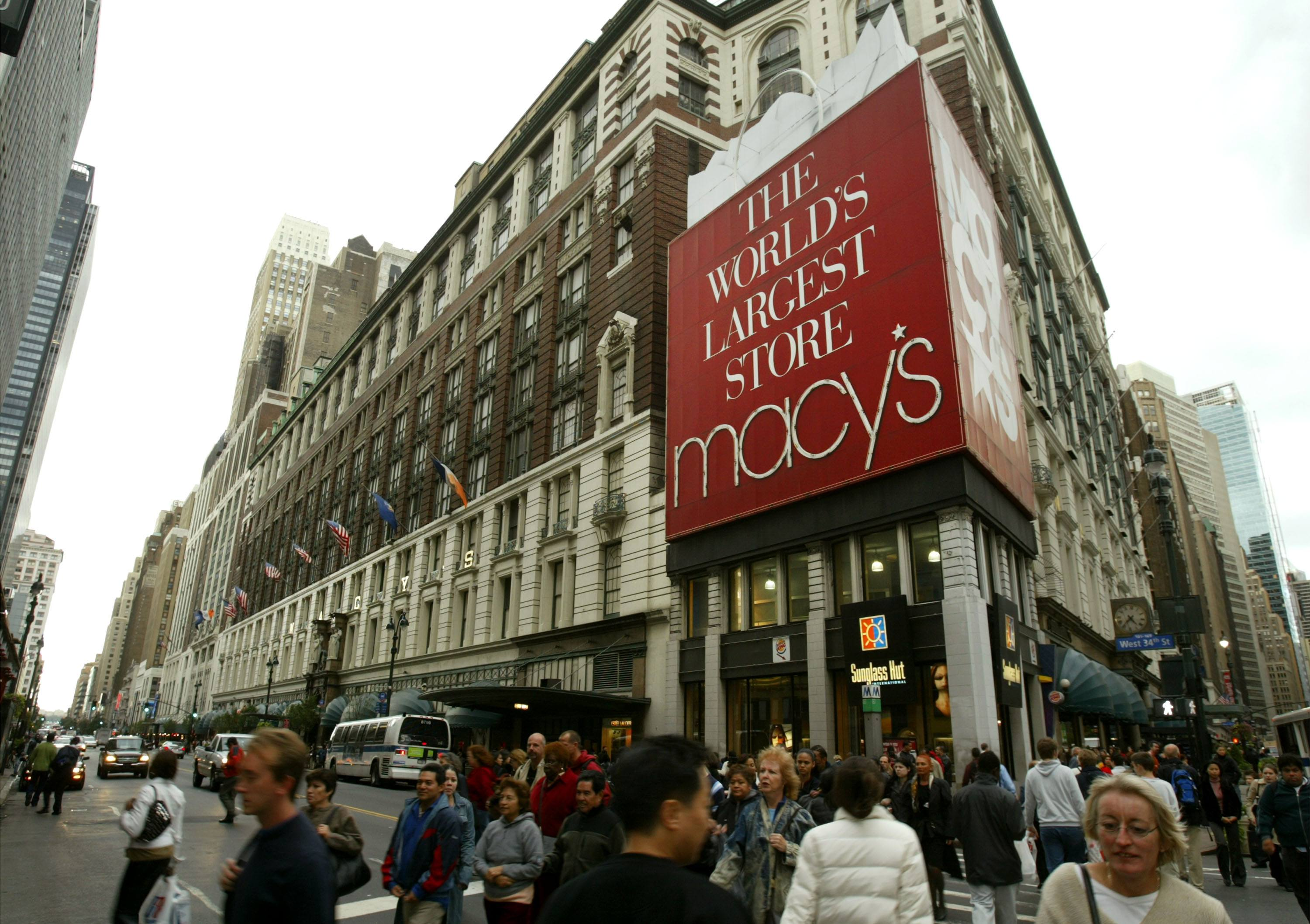 A Macy's department store