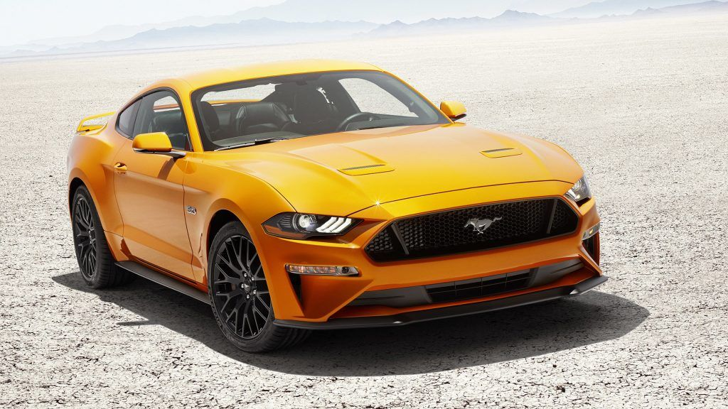2018 Ford Mustang in Orange Fury