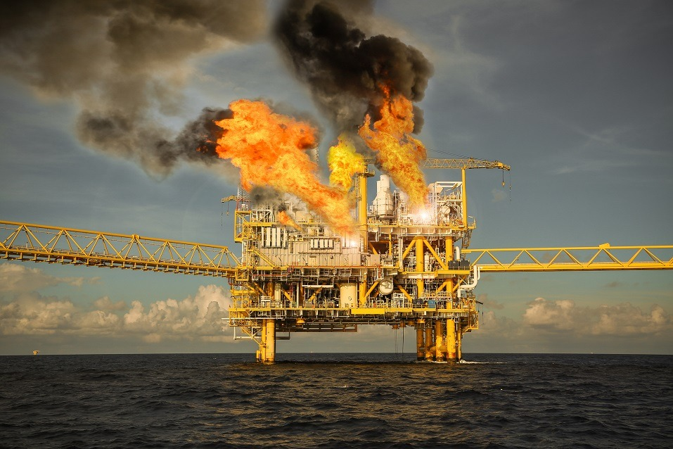 offshore oil drilling emergency case