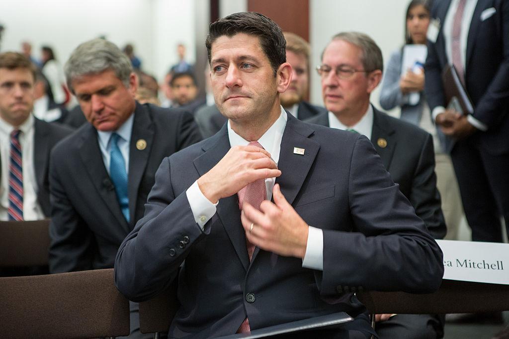 Paul Ryan, House GOP Leaders Discuss Improving US National Security