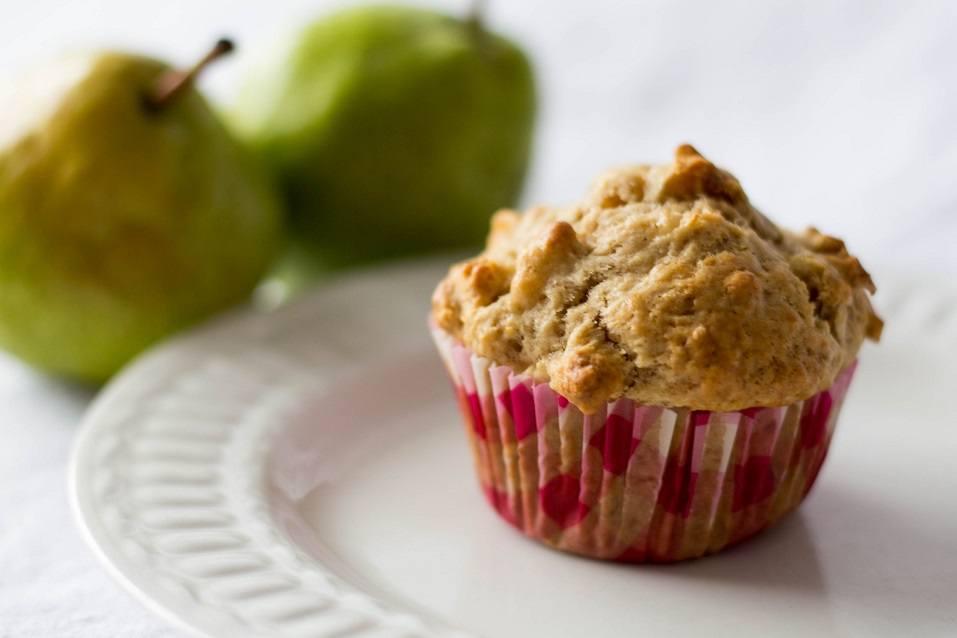pear muffin