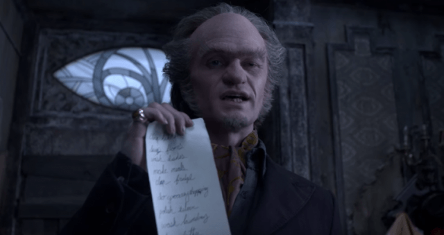 Neil Patrick Harris in 'A Series of Unfortunate Events' for Netflix
