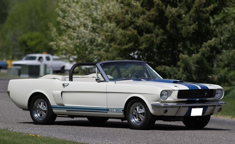 1966 Shelby GT350 Paxton Convertible