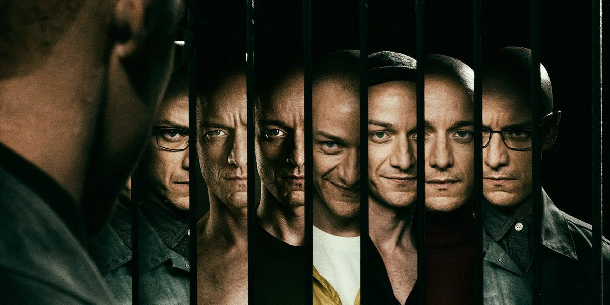 James McAvoy's character showcases his multiple personalities in Split