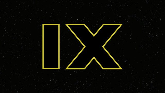 "The ""IX"" logo for Star Wars: Episode IX."