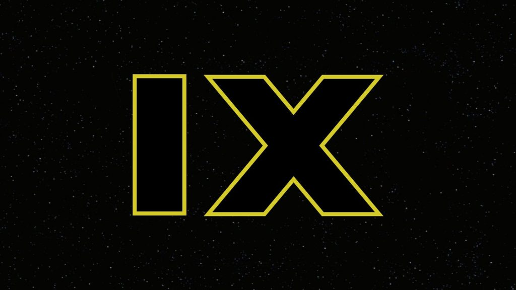 "The ""IX"" logo for Star Wars: Episode IX"