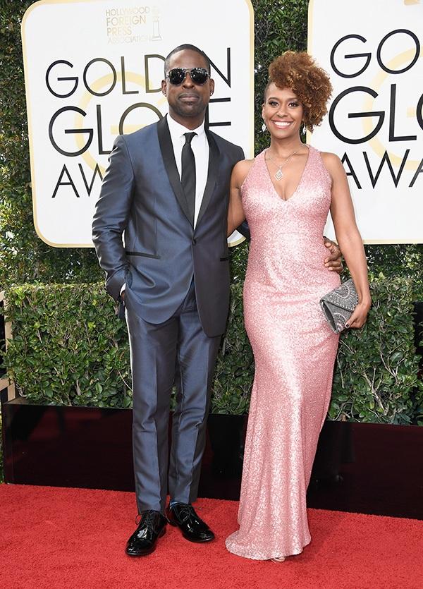 Sterling K. Brown at the Golden Globes