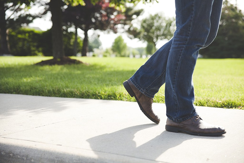 man wearing a pair of jeans