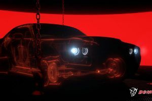 2018 Dodge Challenger SRT Demon's Wide-Body Design Revealed