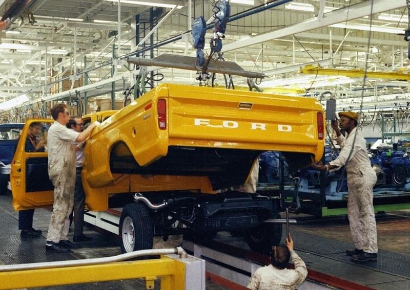 1973 Ford F-Series pickup
