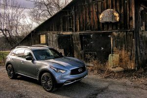 Infiniti's Old Guard: How the QX70 is an Exercise in Delayed Gratification