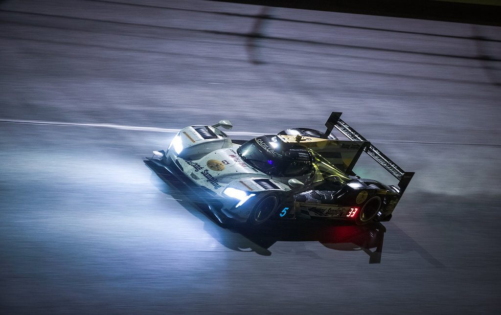 The Cadillac DPi-V.R would end up taking second place