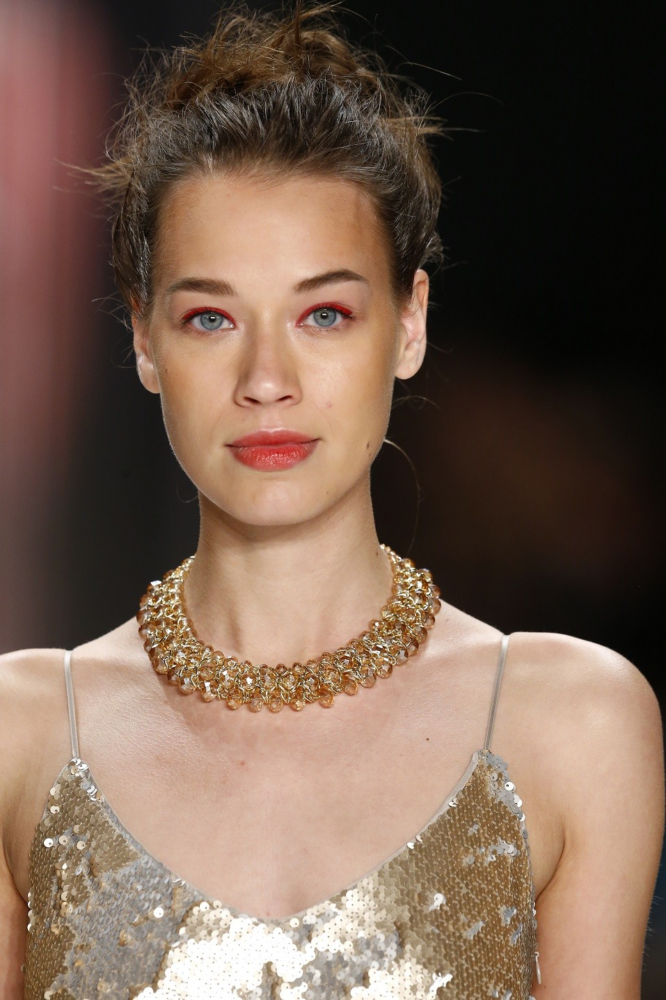 A model walks the runway at the Minx by Eva Lutz show