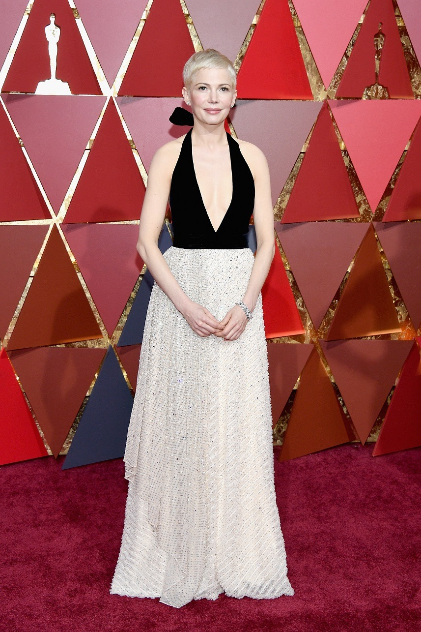 Actor Michelle Williams attends the 89th Annual Academy Awards