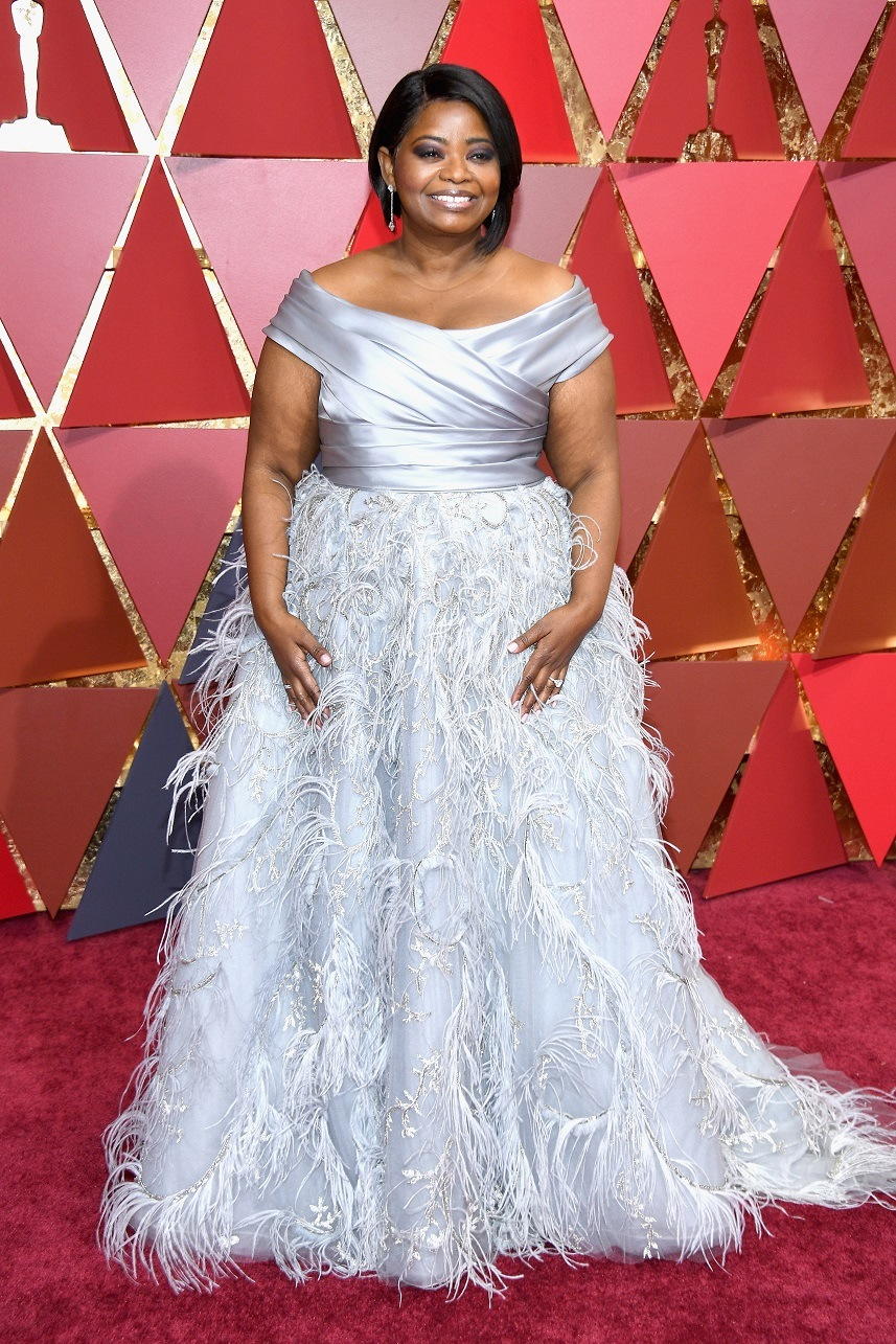 Actor Octavia Spencer attends the 89th Annual Academy Awards