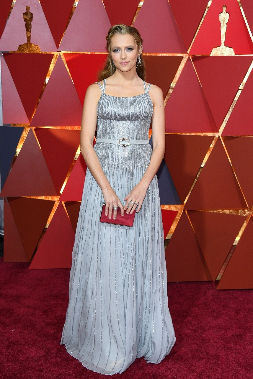 Actor Teresa Palmer attends the 89th Annual Academy Awards