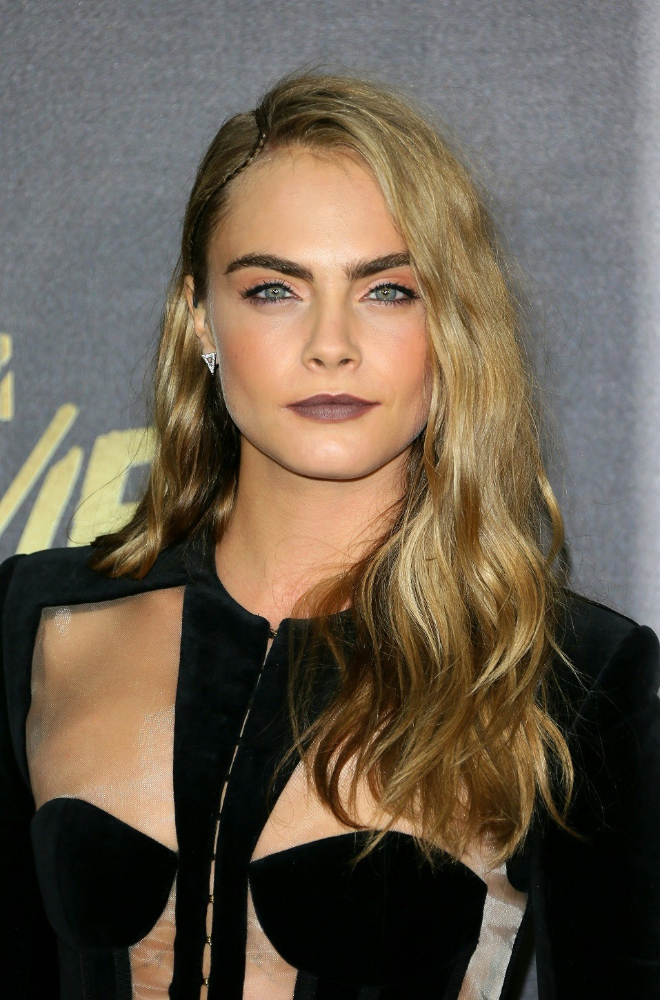 Actress/model Cara Delevingne