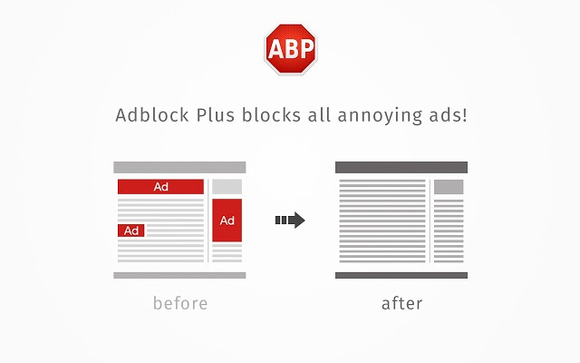 The AdBlock Plus Chrome extension is one of the most useful extensions in the Chrome Web Store