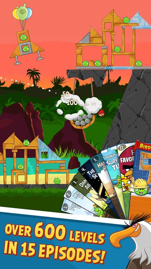 Screenshot of Angry Birds