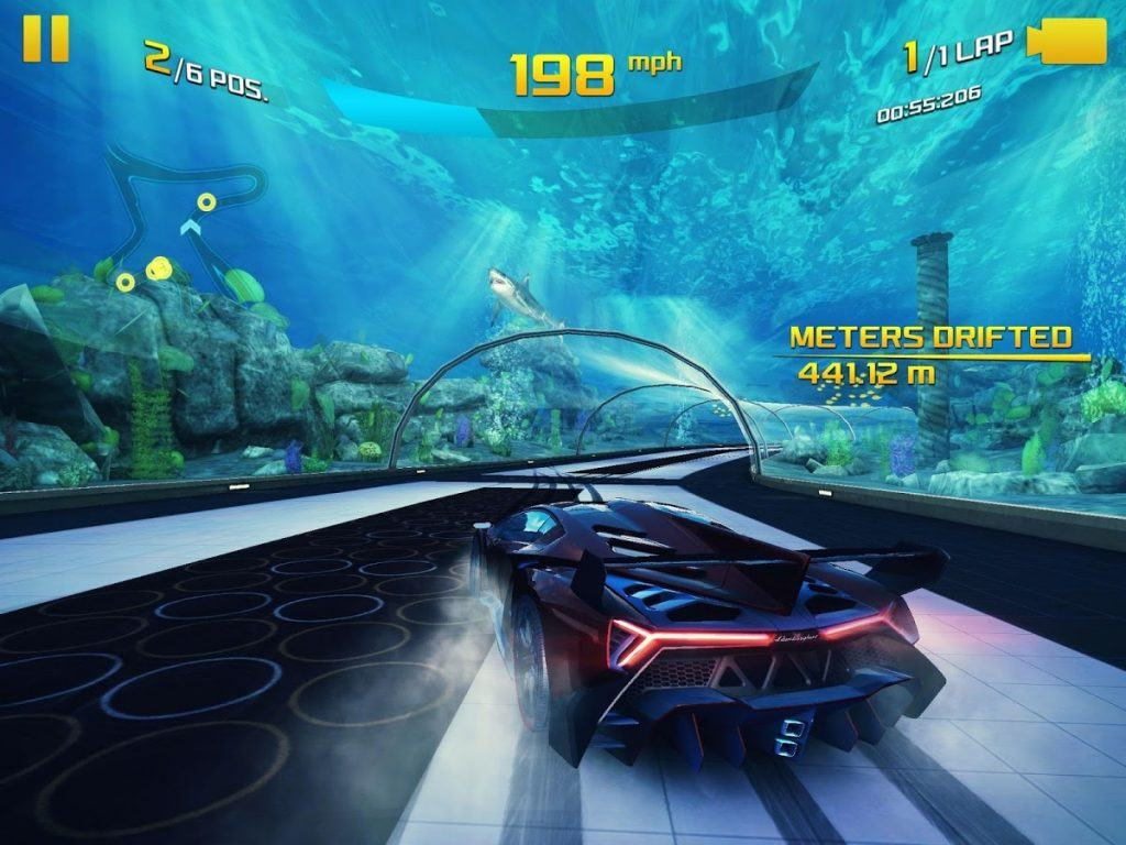 Screenshot of Asphalt 8: Airborne