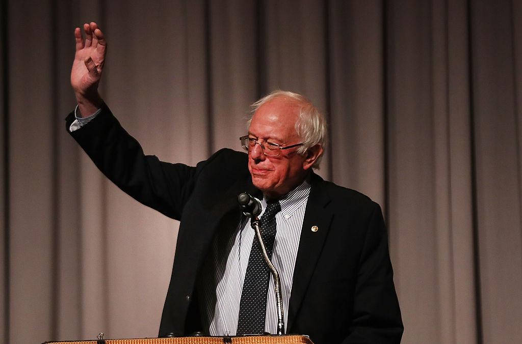 Former presidential candidate and Vermont Senator Bernie Sanders