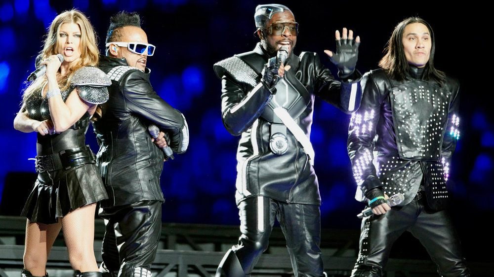 Black Eyed Peas at Super Bowl XLV in 2011