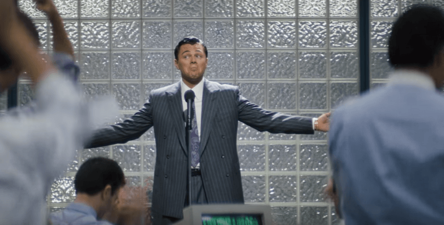 The boss in The Wolf of Wall Street