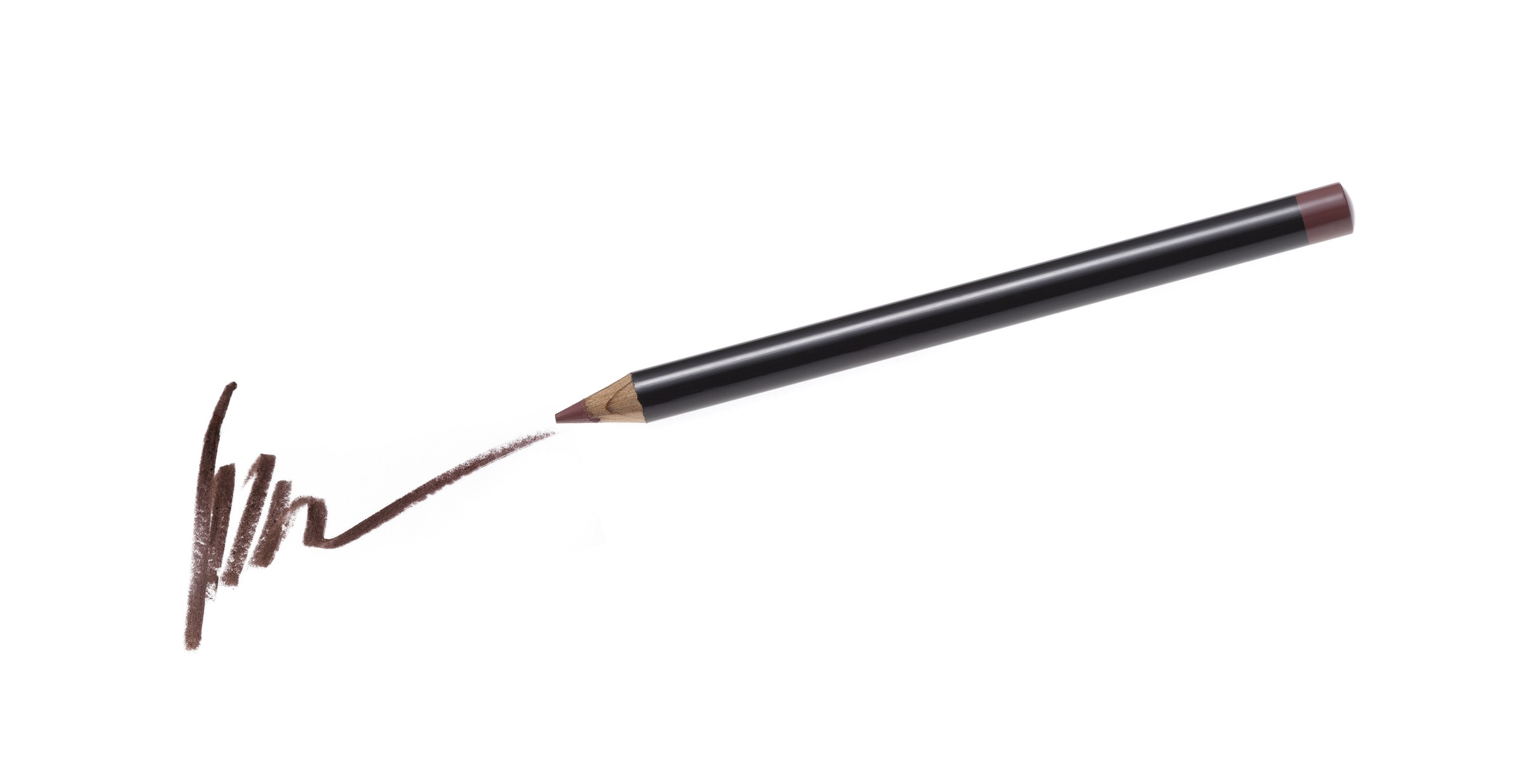 Cosmetic pencil and stroke