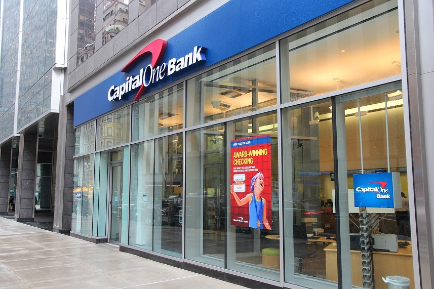 Capital One Bank branch
