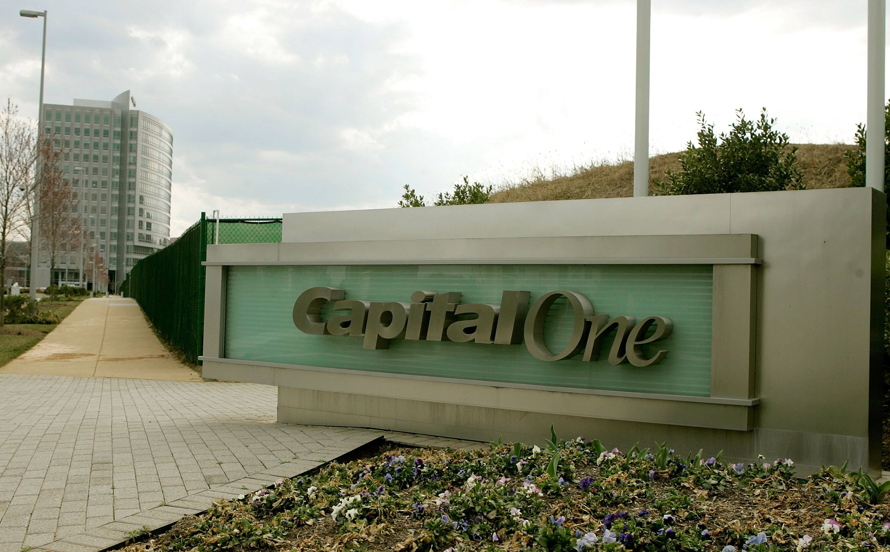 The Capital One headquarters