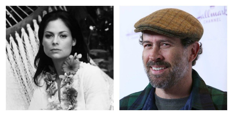Carmen Llywelyn and Jason Lee
