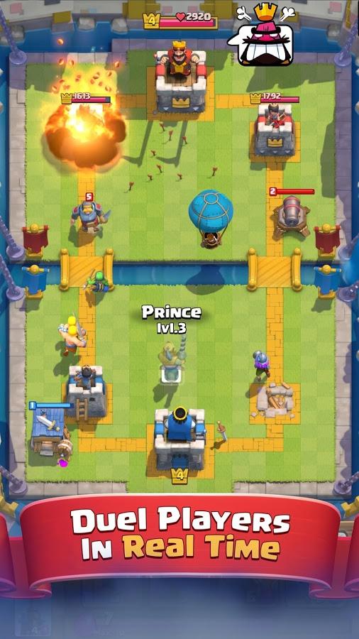 Screenshot of Clash Royale