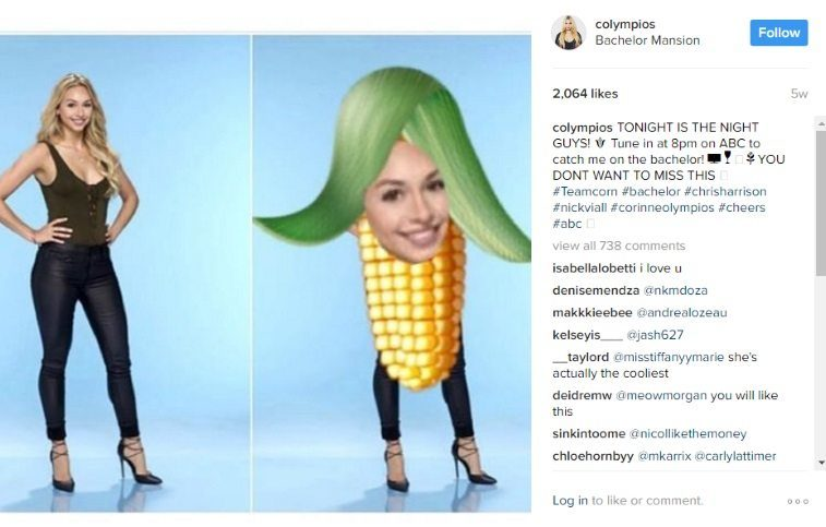 "Corrine goes by the nickname ""Corn"""