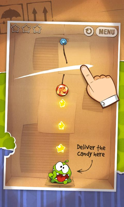 Screenshot of Cut the Rope