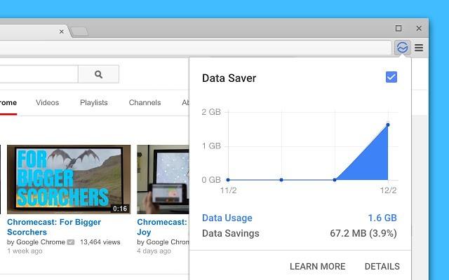 Data Saver extension