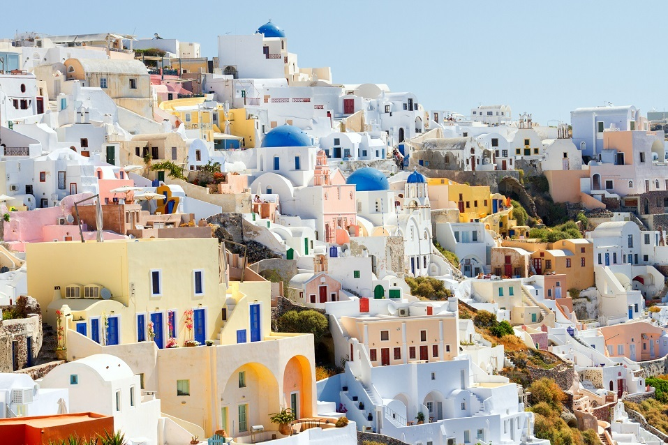 Panorama of Oia, Santorini