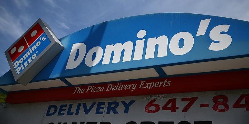 Domino's storefront