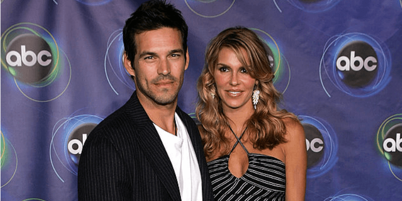 Eddie Cibrian and Brandi Glanville