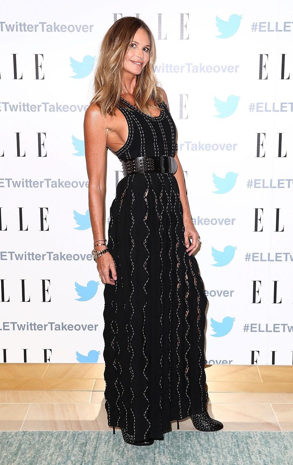 Australian model Elle Macpherson