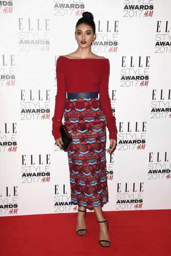 Neelam Gill attends the Elle Style Awards 2017
