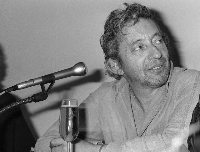French singer and film director Serge Gainsbourg is pictured on May 8, 1983