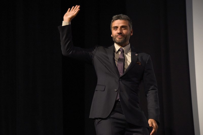"Actor Oscar Isaac attends the ""The Promise"" premiere"