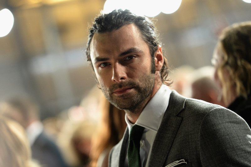 Aiden Turner attends the National Television Award