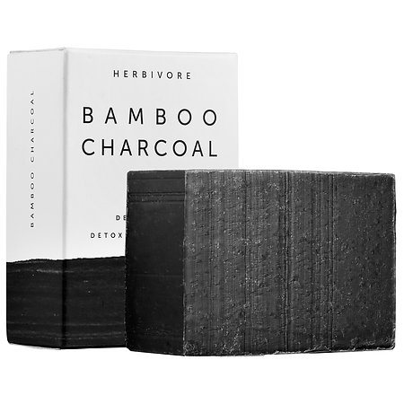 Herbivore Botanicals Bamboo Charcoal Detoxifying Soap Bar