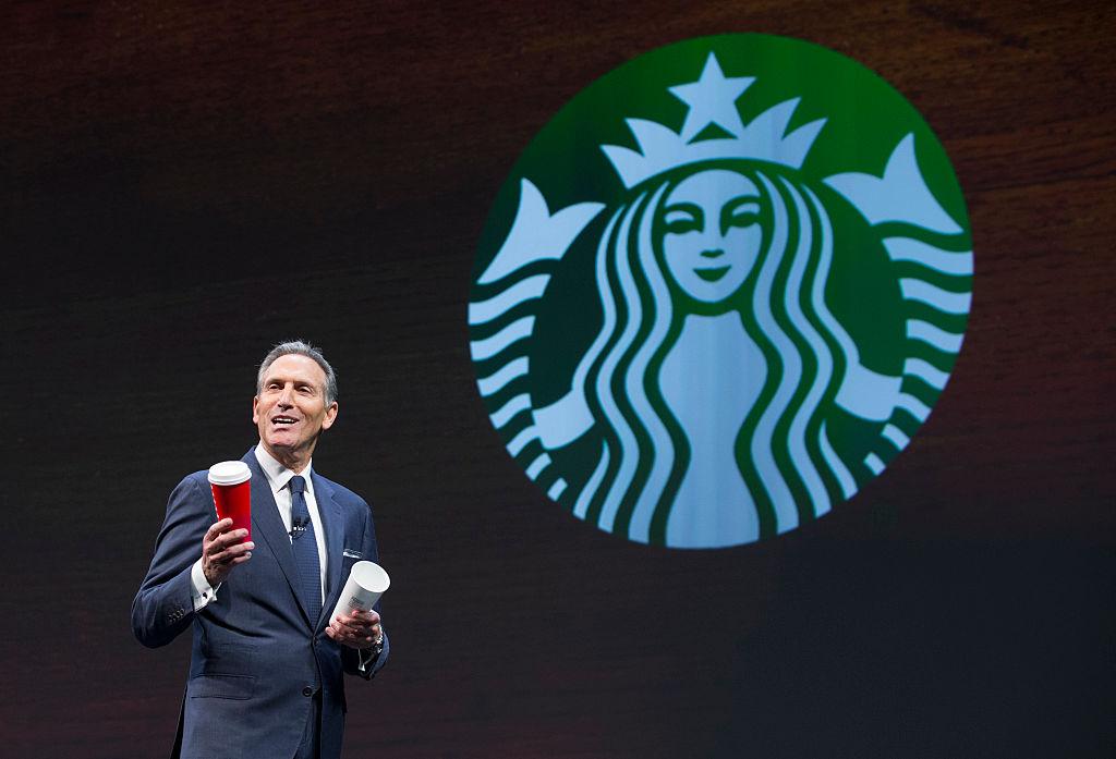 Howard Schultz, Starbucks CEO