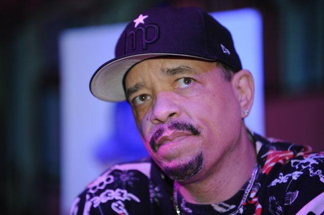 Hip-hop artist Ice-T