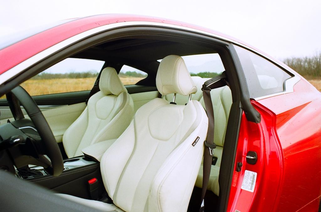 2017 Infiniti Q60 Red Sport
