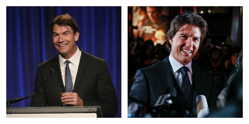 Jerry O'Connell and Tom Cruise